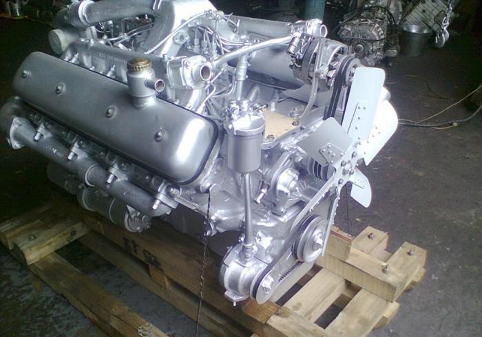 двигатель ЯМЗ-238ДЕ (V8) турбо