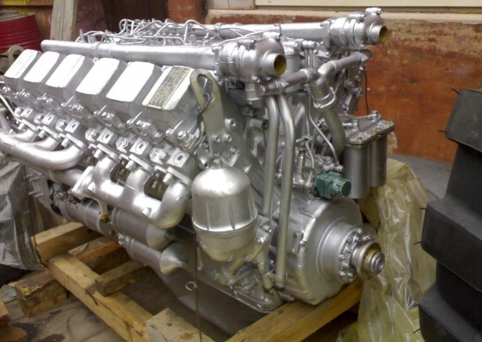 двигатель ЯМЗ 240