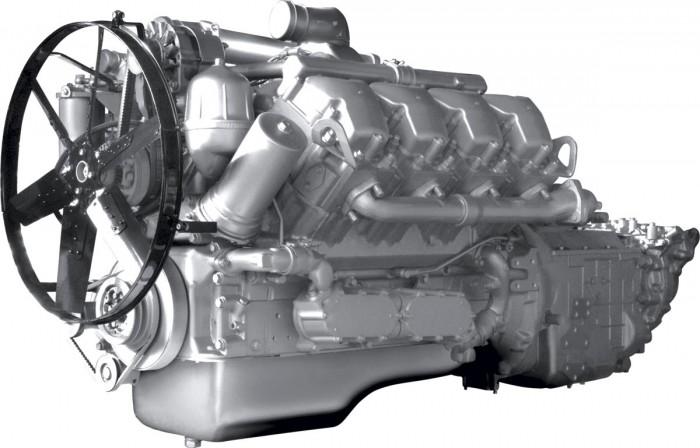 Двигатель ЯМЗ-7511 V8 с турбонаддувом