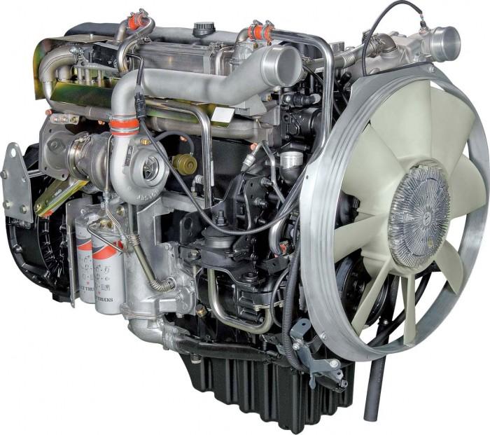 Двигатель ЯМЗ-651 L6 с турбонаддувом