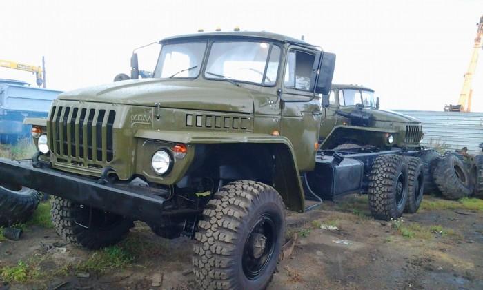 Техническое обслуживание автомобиля Урал